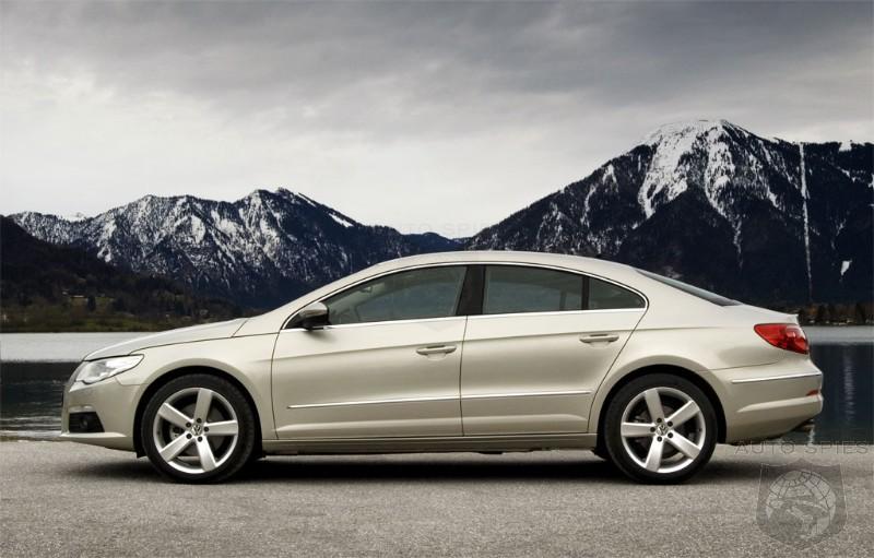 2009 Volkswagen Passat Cc Pricing Announced Autospies Auto News